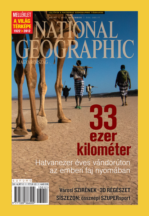National Geographic Magazin - 2013. december