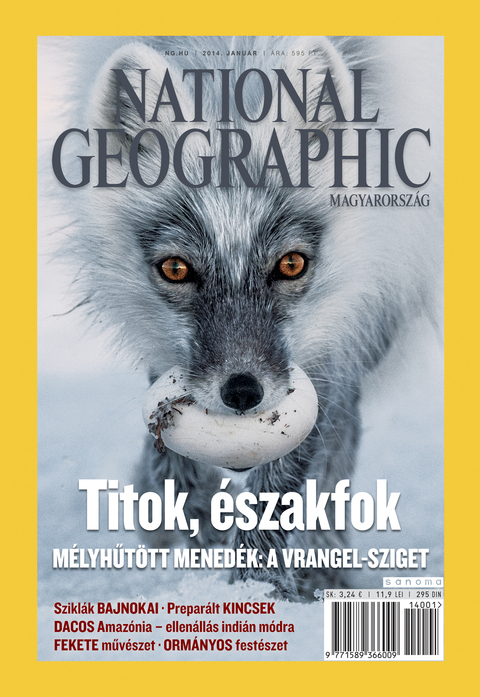 National Geographic Magazin - 2014. január