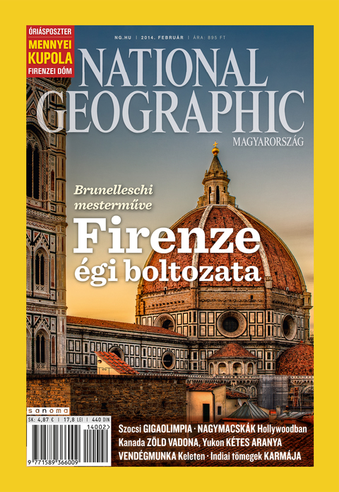 National Geographic Magazin - 2014. február