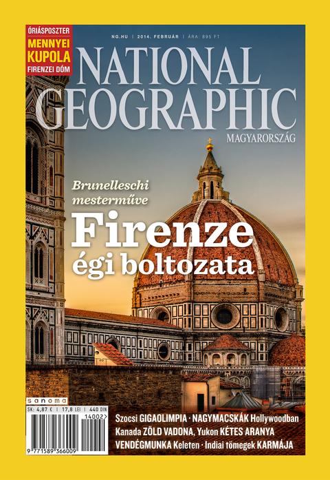 National Geographic Magazin - 2014. február