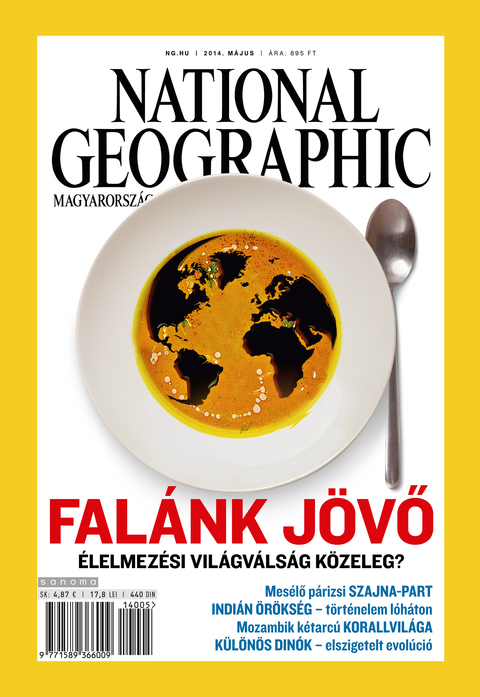 National Geographic Magazin - 2014. május