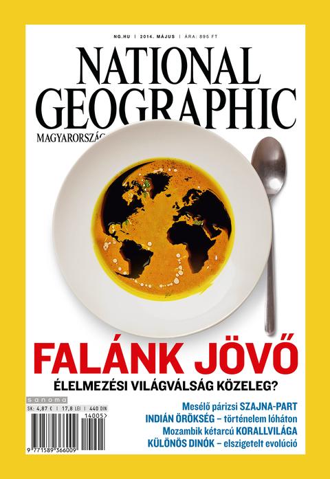 National Geographic Magazin - 2014. május