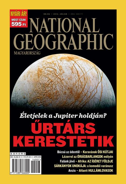 National Geographic Magazin - 2014. július