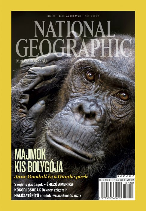 National Geographic Magazin - 2014. augusztus