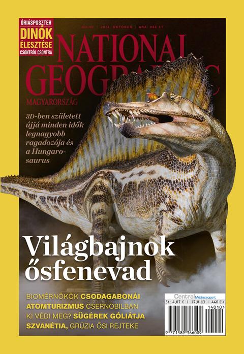 National Geographic Magazin - 2014. október