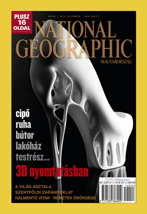 National Geographic Magazin - 2014. december