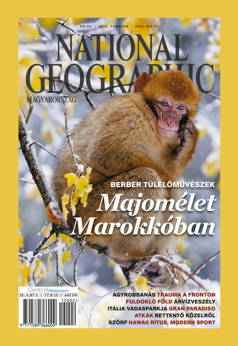 National Geographic Magazin - 2015. február