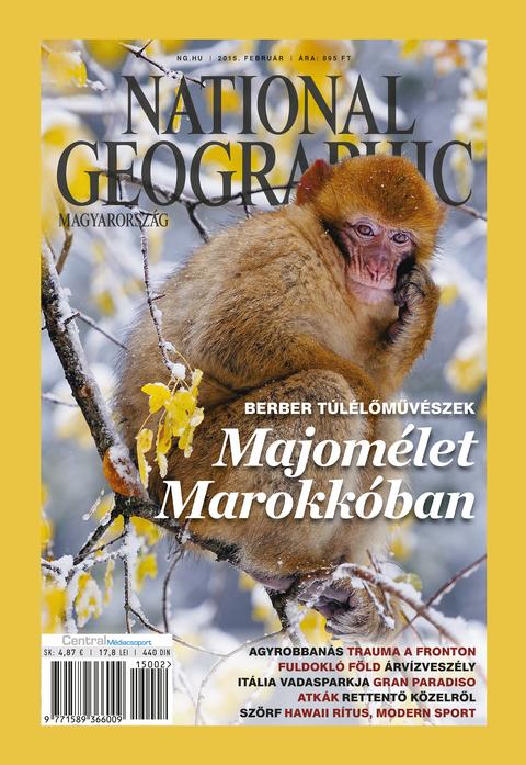 National Geographic Magazin - 2015. február