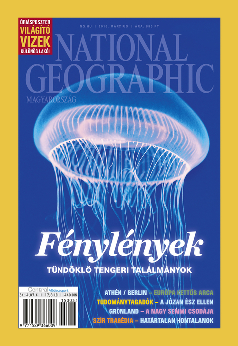 National Geographic Magazin - 2015. március