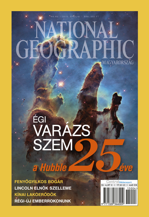 National Geographic Magazin - 2015. április