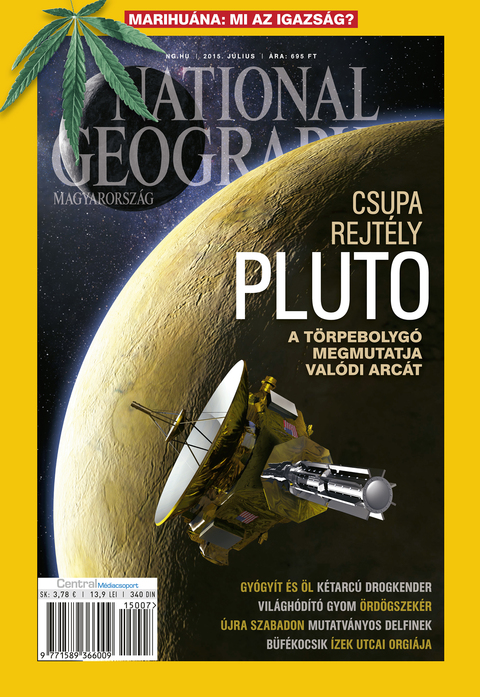 National Geographic Magazin - 2015. július