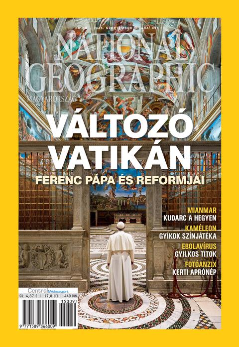 National Geographic Magazin - 2015. szeptember