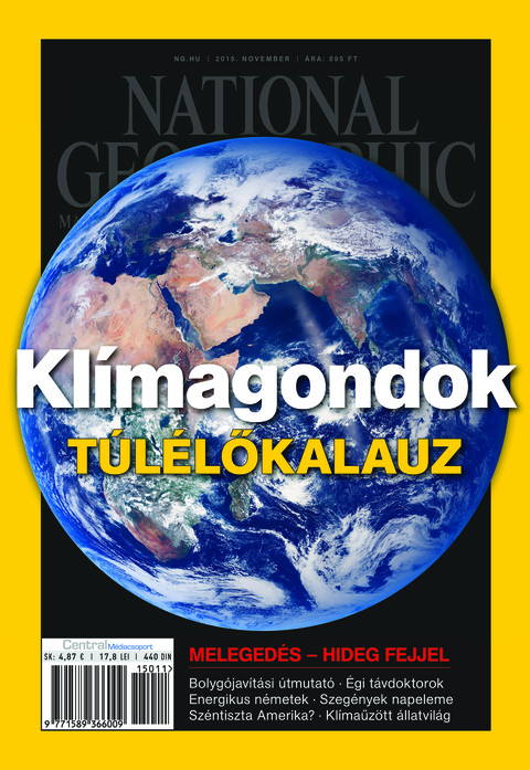 National Geographic Magazin - 2015. november