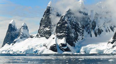 Kontinensmaradványok a jég alatt
