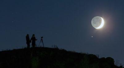 Hold–Szaturnusz együttállás