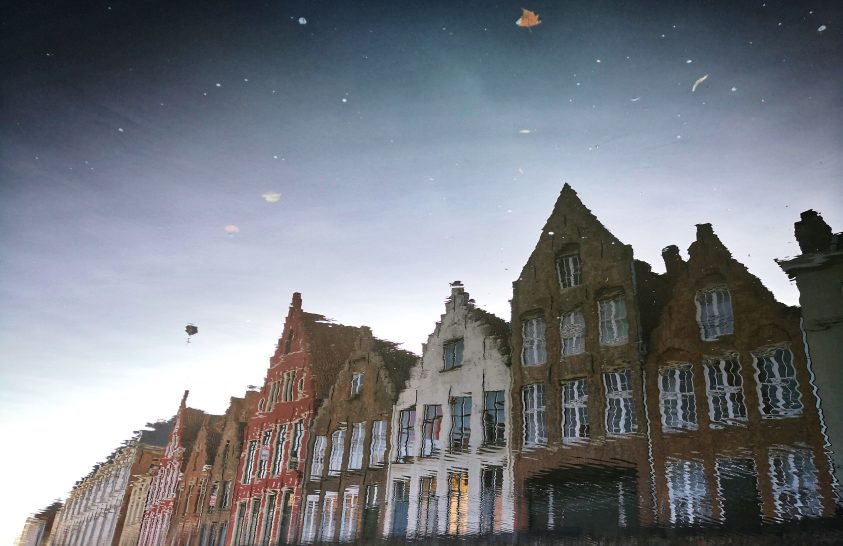 A nap képe: A mesebeli Brugge