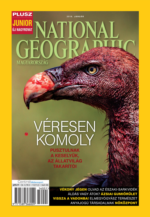 National Geographic Magazin - 2016. január