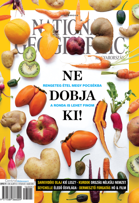 National Geographic Magazin - 2016. március