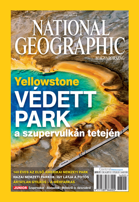 National Geographic Magazin - 2016. május