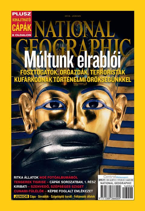 National Geographic Magazin - 2016. június