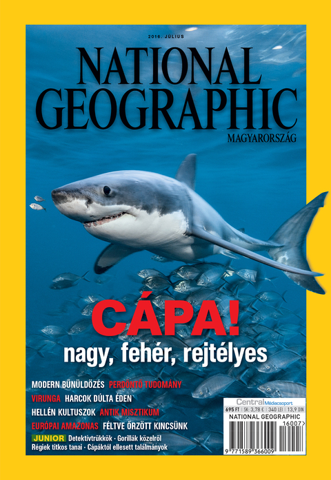 National Geographic Magazin - 2016. július