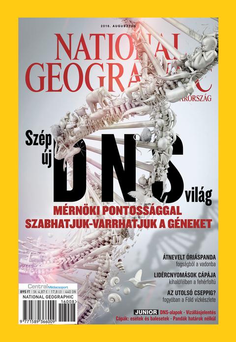 National Geographic Magazin - 2016. augusztus