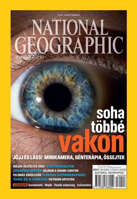 National Geographic Magazin - 2016. szeptember