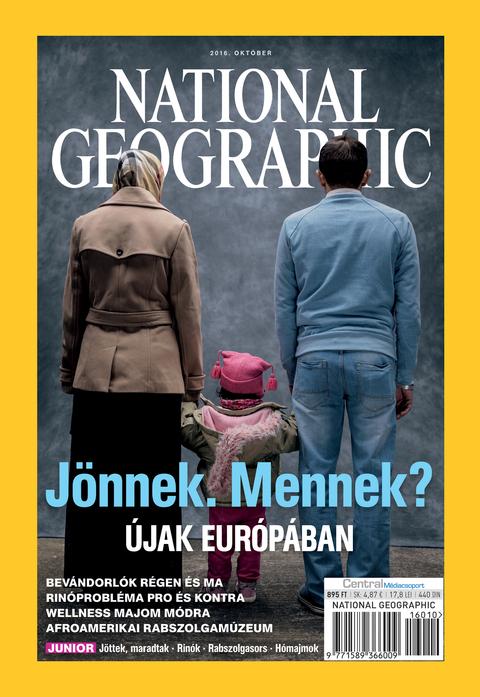 National Geographic Magazin - 2016. október