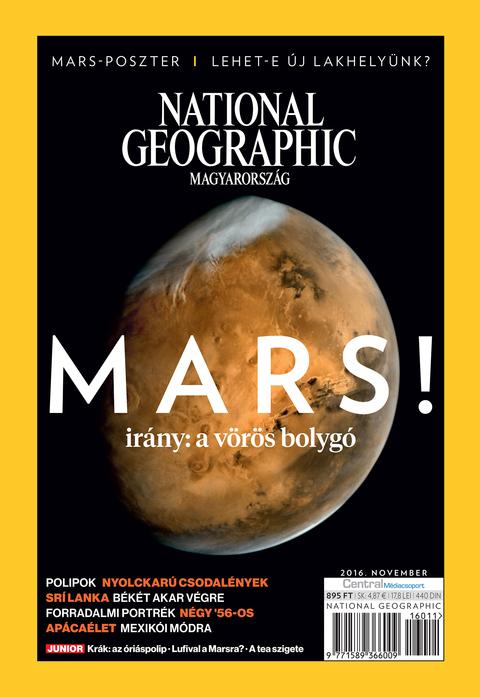 National Geographic Magazin - 2016. november