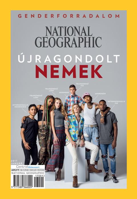 National Geographic Magazin - 2017. január