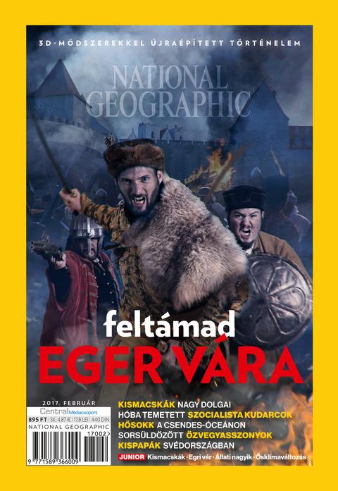 National Geographic Magazin - 2017. február