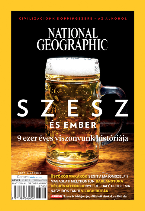 National Geographic Magazin - 2017. március