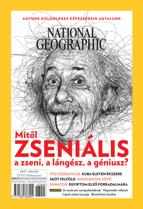 National Geographic Magazin - 2017. május