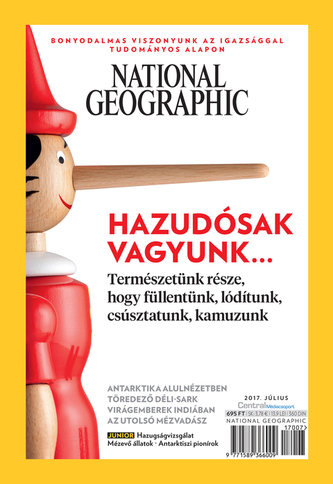 National Geographic Magazin - 2017. július