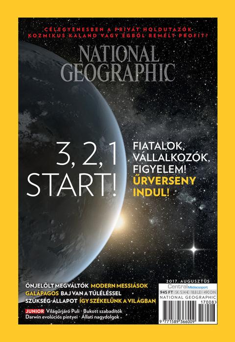 National Geographic Magazin - 2017. augusztus