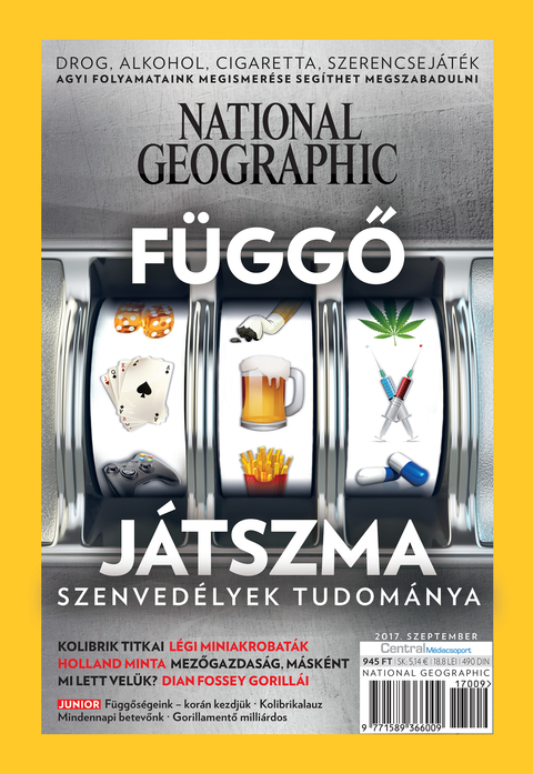 National Geographic Magazin - 2017. szeptember