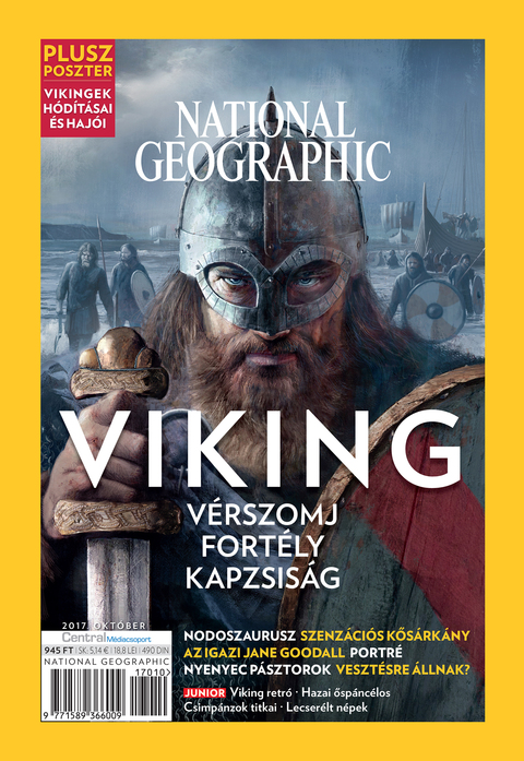 National Geographic Magazin - 2017. október