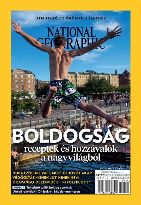 National Geographic Magazin - 2017. november