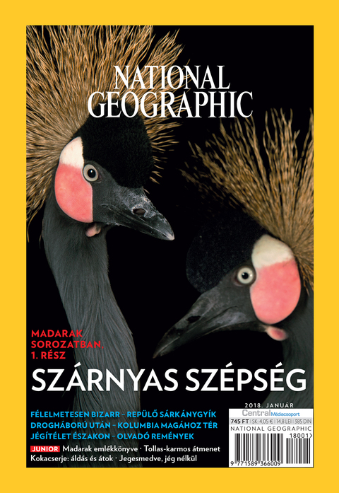 National Geographic Magazin - 2018. január