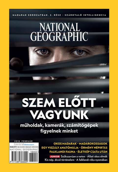 National Geographic Magazin - 2018. február