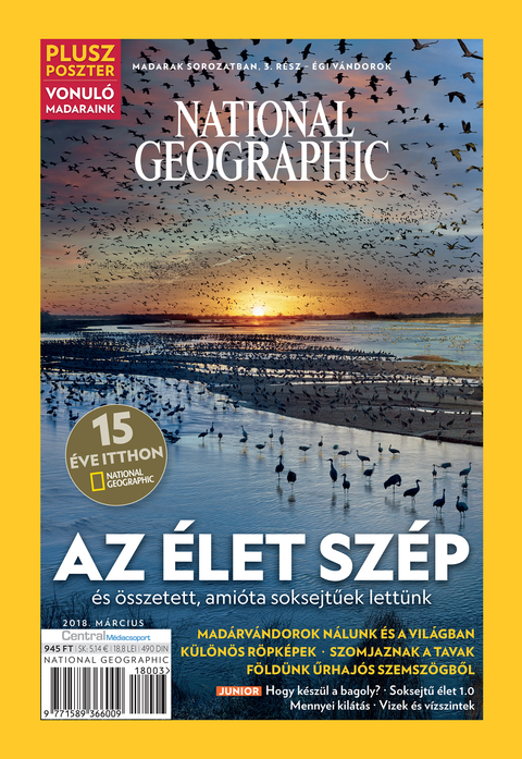 National Geographic Magazin - 2018. március