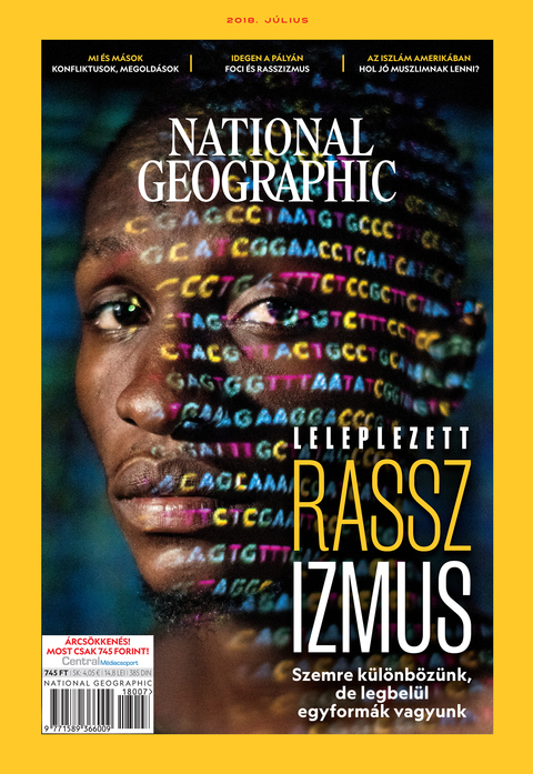 National Geographic Magazin - 2018. július