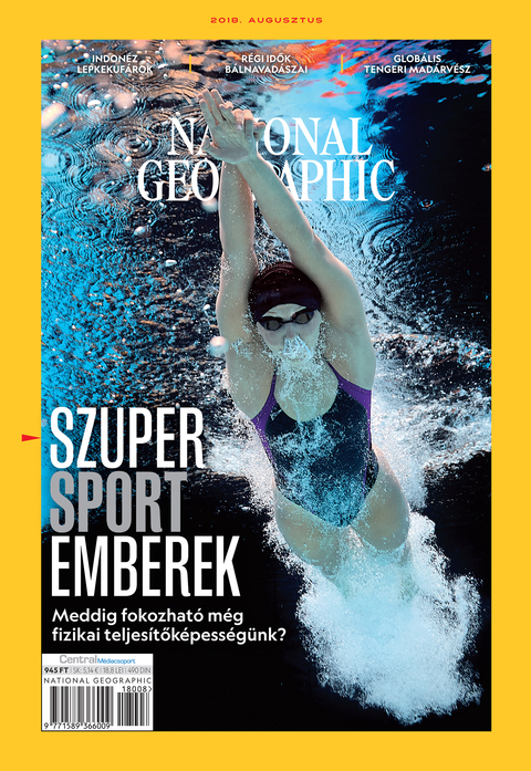 National Geographic Magazin - 2018. augusztus