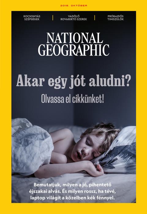 National Geographic Magazin - 2018. október