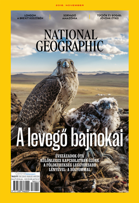 National Geographic Magazin - 2018. november