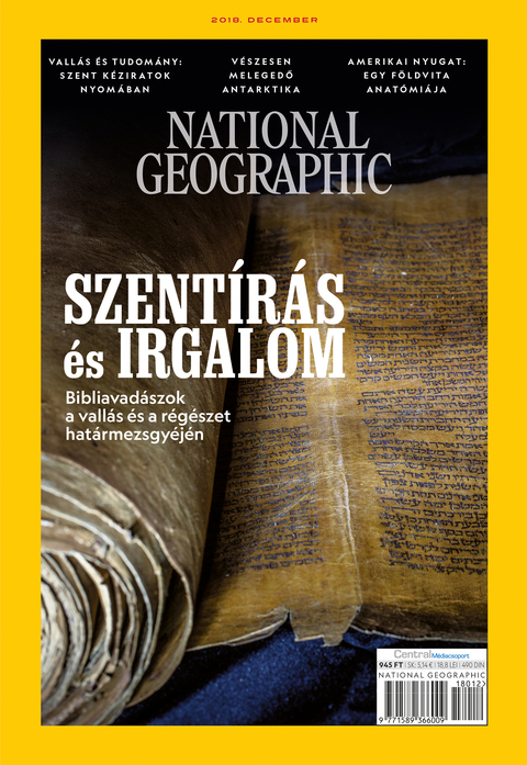National Geographic Magazin - 2018. december