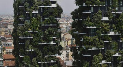 Környezetbarát ikertornyok Milánóban