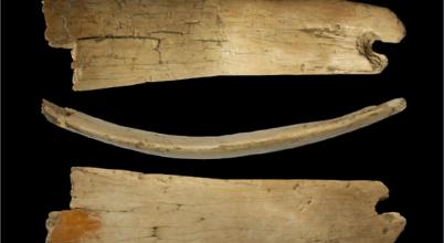 Mamutcsontból készült tiarára bukkantak
