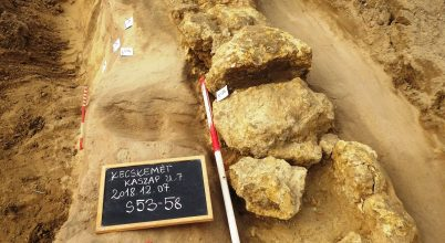 Különleges leletek kerültek elő Kecskemét belvárosában