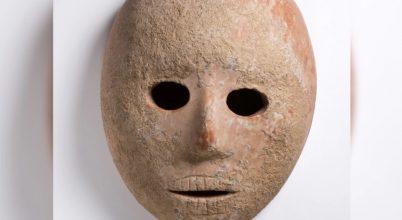 9000 éves kőmaszkot találtak